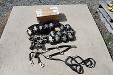 PPCS PIKES PEAK 010 RATCHET STRAP KIT W/ BAG 16 STRAPS 8 V STRAPS WITH D RINGS
