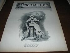 1898 Art Print - Sexy SUFFRAGETTE Suffrage Girl Sits on BOOKS Women's Rights ETC