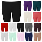 H11D Ladies Womens Crop Plus Size Hot Pants Cycling Mini Short Length Sizes 8-26