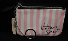 Victoria's Secret Mini Keychain, Coin, Credit Card, Cosmetic Wristlet *pink* New