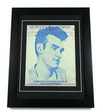 MORRISSEY CANVAS ART PRINT GIG POSTER FRAMED THE SMITHS Memorabilia Manchester