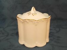 Rosenthal Classic Rose Collection Gold Trim Lidded Sugar Bowl / Sucrier (E)
