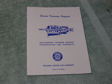 1940-9 Packard R-9 Overdrive Transmission. Servicemens Training Manual.