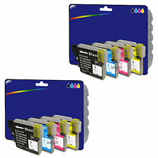 2 Sets of non-OEM LC985 Ink for Brother DCP-J125 DCP-J140W DCP-J315W DCP-J515W