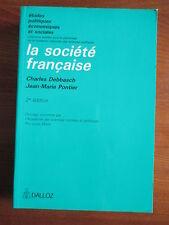 """""""La société française"""" de Charles Debbasch et jean-Marie Pontier"""