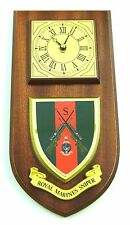 ROYAL MARINES COMMANDO SNIPER CLASSIC STYLE HAND MADE TO ORDER  WALL CLOCK