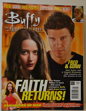 BUFFY VAMPIRE SLAYER ZEITSCHRIFT MAGAZIN # 41 DEC  2002  FAITH RETURNS (ZB 74)