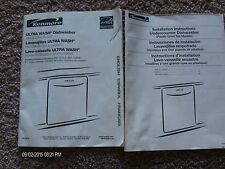 KENMORE ULTRA WASH DISHWASHER INSTALLATION & PRODUCT GUIDE 2006 SEARS BRANDS
