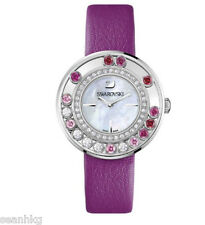 Swarovski Lovely Crystals Magenta Ladies' Watch Swiss Quartz MIB - 1160309
