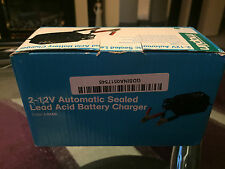 MAPLIN 2-12 AUTOMATIC SEALED LEAD ACID BATTERY CHARGER