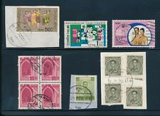 THAILAND SIAM TAK POSTMARKS 12 stamps