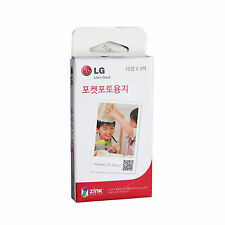 LG Pocket Photo PoPo Zink 30 Sheets Paper for PD239 / PD221/ PD251 / PD269
