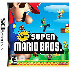 NEW Super Mario Bros (Nintendo DS, 2006)