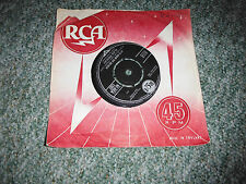 ELVIS PRESLEY IT'S NOW OR NEVER/MAKE ME KNOW IT RECORD