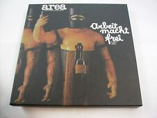 AREA - ARBEIT MACHT FREI - LP+CD BOXSET LIKE NEW NUMBERED 2013 - COPY # 1112