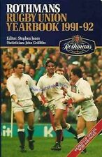 ROTHMANS Rugby Union yearbook 1991-1992