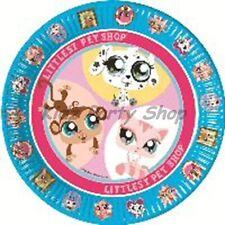 Littlest PET SHOP Party - 8 Piatti Di Carta 23cm-spedizione gratuita nel Regno Unito