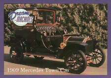 1909 Mercedes Town Car, Imperial Palace Co. Las Vegas Trading Card, Not Postcard
