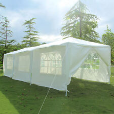 10'x30' Party Wedding Tent 8 Walls Outdoor Canopy Gazebo Pavilion Cater Event