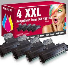 4 XXL Toner für Samsung SCX-4521D3 SCX 4521 FR