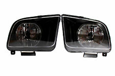 05-09 Ford Mustang Black Housing Headlights SVT V6 V8 Convertable Seleen Cobra