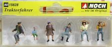 NOCH 15628 HO TRACTOR DRIVERS FIGURES SET NEW
