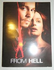 FROM HELL DIGITAL MOVIE PRESS BOOK PRODUCTION HANDBOOK JOHNNY DEPP 20TH FOX