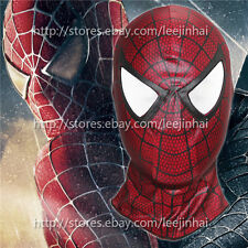 The Amazing Spider Man mask Cosplay  Hood Spider-Man 3 red mask