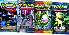 ① 4 BOOSTERS de CARTES POKEMON Neuf Aucun double en FRANCAIS (Lot N° AAO)