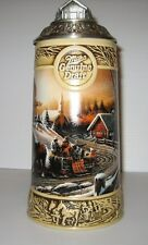 "1995 Miller Holiday Stein Terry Redlin Collection ""The Pleasures of Winter"""