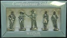 WESTAIR - CONFEDERATE SOLDIERS - 5 Civil War Soldiers - Nice Details NIB