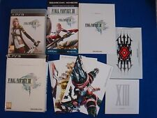 ps3 FINAL FANTASY XIII *x 13 Limited Collectors Edition Game Playstation PAL