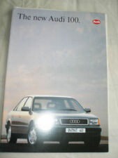 AUDI 100 GAMMA BROCHURE Apr 1991
