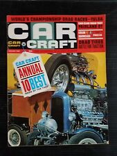 Car Craft Magazine Jan 1966 - Annual 10 Best Hot Rods of the Year - Chevelle