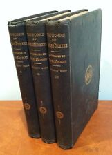 "Antique Charles Dickens Household Edition ""Old Curiosity Shop"" Vol. 1-3 1863"