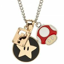 *NEW* Super Mario Bros: Charm Necklace by Bioworld