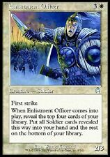2x Ufficiale Arruolatore - Enlistment Officer MTG MAGIC APC Apocalypse English
