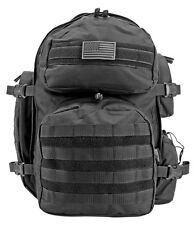 Tactical Elite Gear Hauler Backpack EastWest Survival Hiking Pack Hunt Trek BLK*