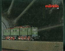 Alter Katalog Märklin HO 1986/87 D Eisenbahn Bahn Fotos Beschreibungen