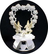 PEGASUS Fantasy Wedding Cake topper winged horse  Hearts Fairytale top