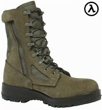 BELLEVILLE 639Z CT HOT WEATHER USAF SIDE ZIP COMPOSITE TOE BOOTS * ALL SIZES