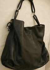 GIORGIO ARMANI Via BORGONUOVO.11-MILANO ,made in Italy Large Genuine leather bag