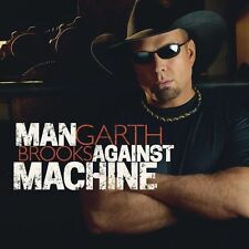 GARTH BROOKS - MAN AGAINST MACHINE - CD SIGILLATO 2014