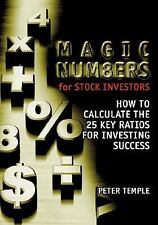 Magic Numbers for Stock Investors: How To Calculate the 25 Key Ratios -ExLibrary