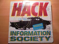 INFORMATION SOCIETY Only Colombian lp HACK 1990  Different Cover / 17