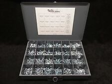 GRADE 5 NUT BOLT & WASHER ASSORTMENT KIT SCREWS 1000 PC