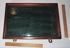 "North American Hunting Club ""HUNTING HERITAGE"" KNIFE CASE - EMPTY - CASE ONLY"