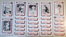 1968 Detroit Tigers World Series Commemorative Set by Domino's Pizza in 1988
