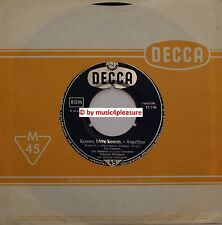 "♫ 7"" IVO CARRARO Claus Ogerman KLAUS OGERMANN Angelina Bitte .. Decca 18756 EX ♫"