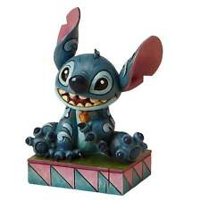 Disney Traditions Ohana Means Family Stitch Figurine New Boxed 4016555